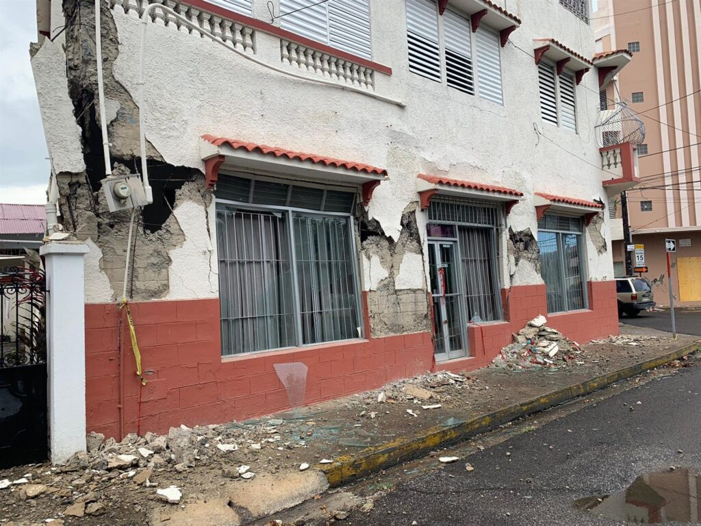 A 5.5-magnitude earthquake hit near southern Puerto Rico on Saturday. Mayita Melendez via Twitter
